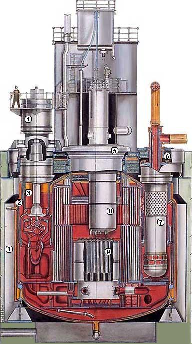 Конструкция Реактора БН-600