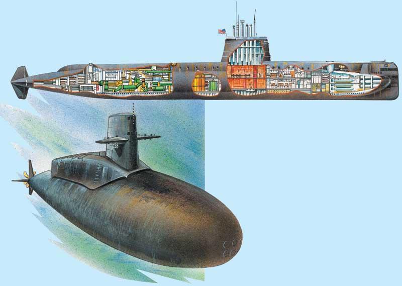 первая в мире атомная подводная лодка в россии